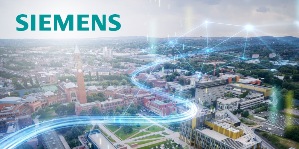 University of Birmingham partners with Siemens to create the smartest university campus in the world