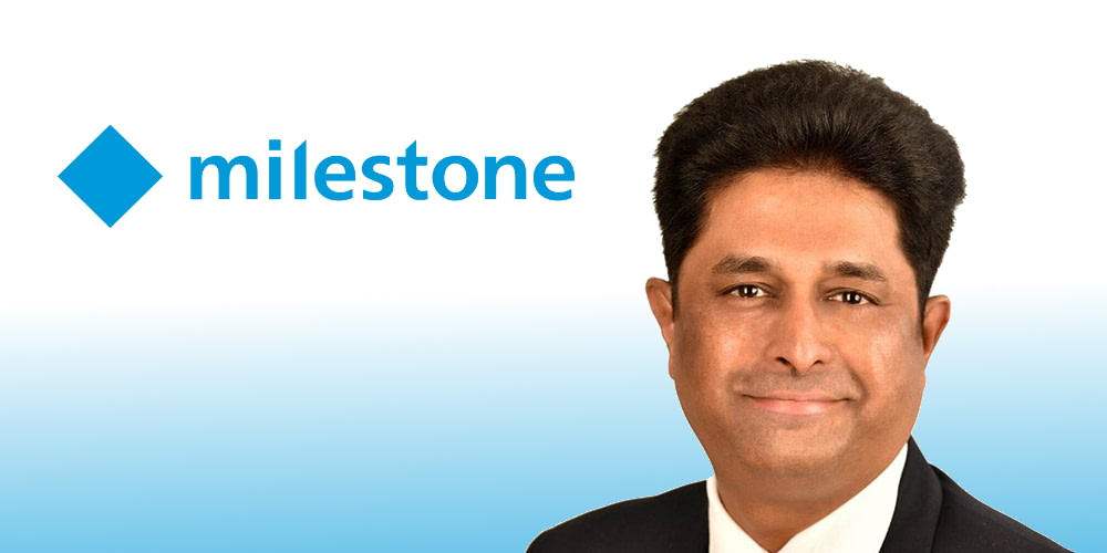 Milestone Systems announces the appointment of Sandesh Kaup as the new Country Manager for India and SAARC