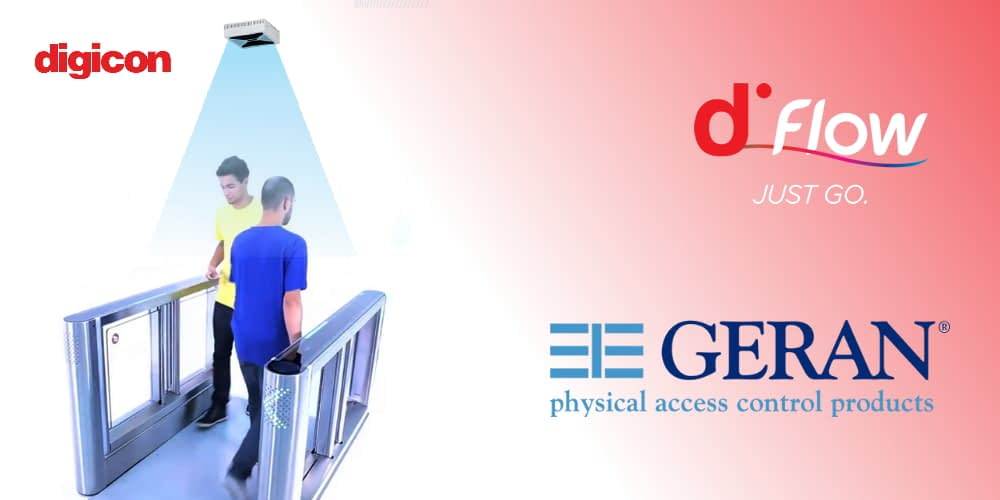 Geran Access Products distributes dFlow, the welcoming entrance gate that is normally open and only closes when needed
