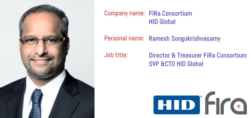 FiRa Director, HID Global CTO Ramesh Songukrishnasamy