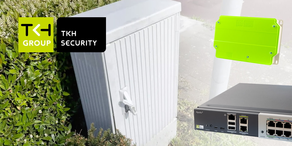 Manage, monitor and control vital infrastructures remotely with TKH Security