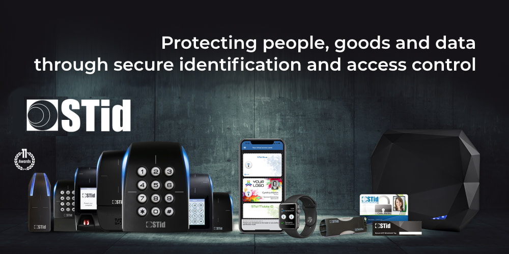 STid: Protecting people, goods and data through secure identification and access control