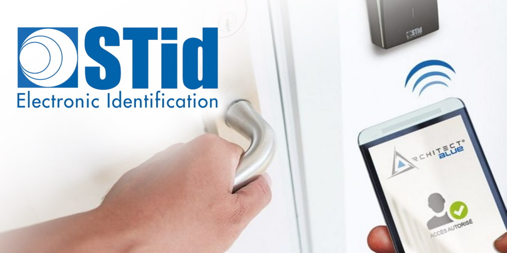 Bosch integrates STid's mobile solution in its access control systems