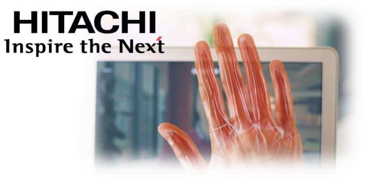 Hitachi finger vein