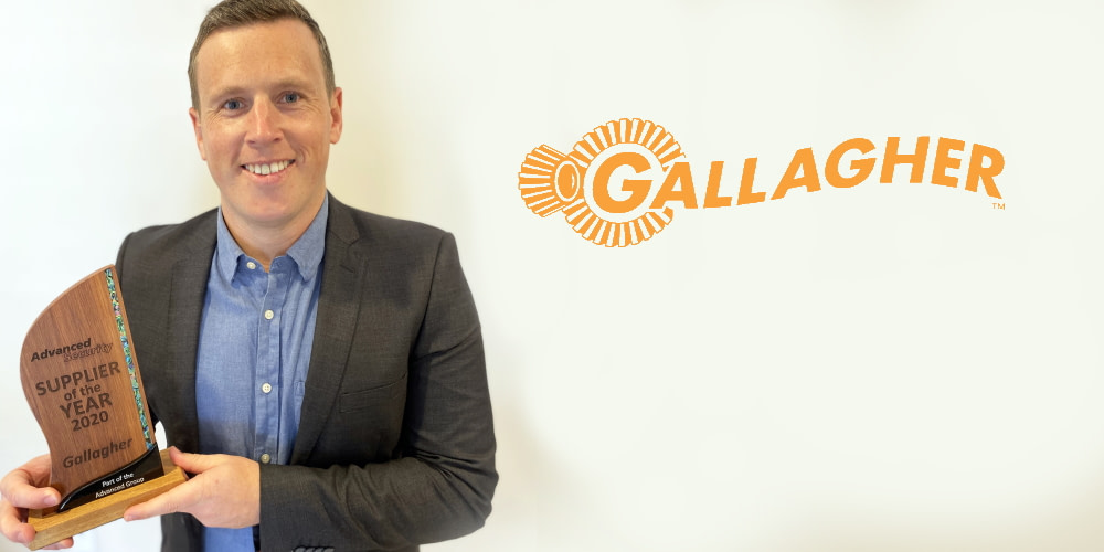 Advanced Security Presents Gallagher a Supplier of the Year Award