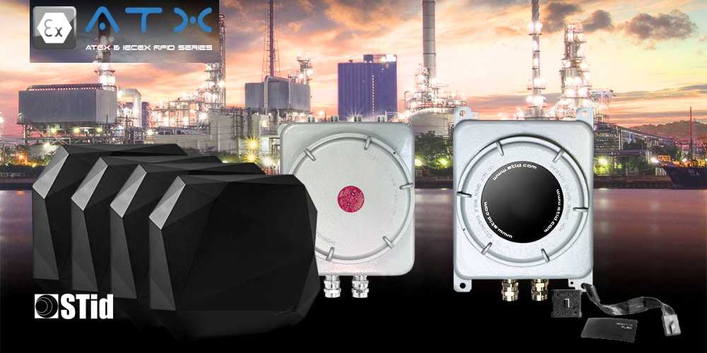 STid introduces SPECTRE ATX - A new range of RFID readers for asset tracking in environments with explosion hazards