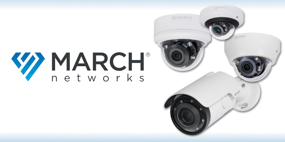 March Networks' New Cost-Competitive VA Series IP Cameras Feature Crystal-Clear 2MP and 4MP Resolution with Built-In Video Analytics