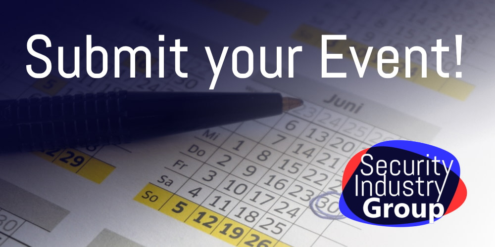 Submit your event to be listed in the event calendar on SecIndGroup.com