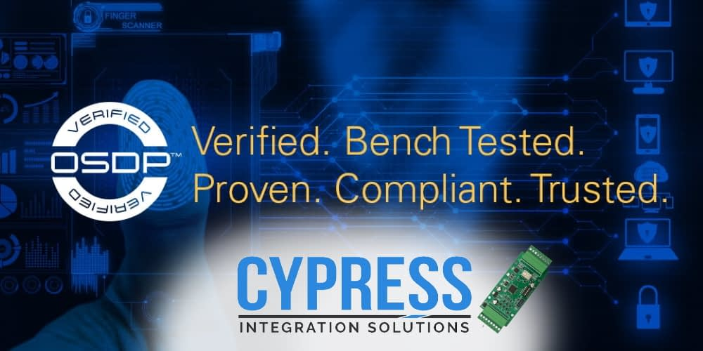 Cypress OSDP verified products