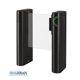 Geran dTower Access Gate Black