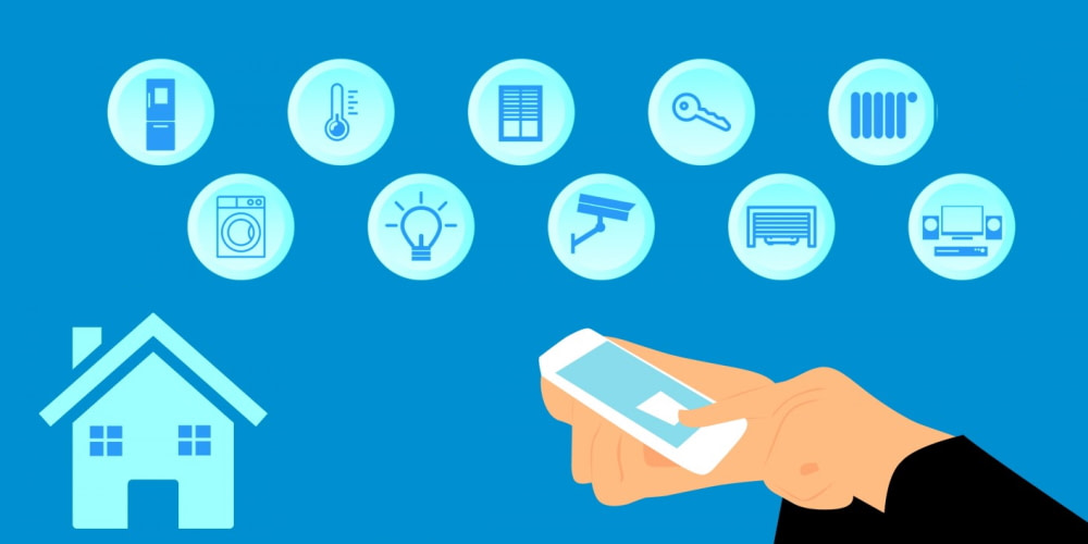 The global home automation and controls market size was valued at $52.03 billion in 2019 and is expected to reach $104.52 billion by 2028