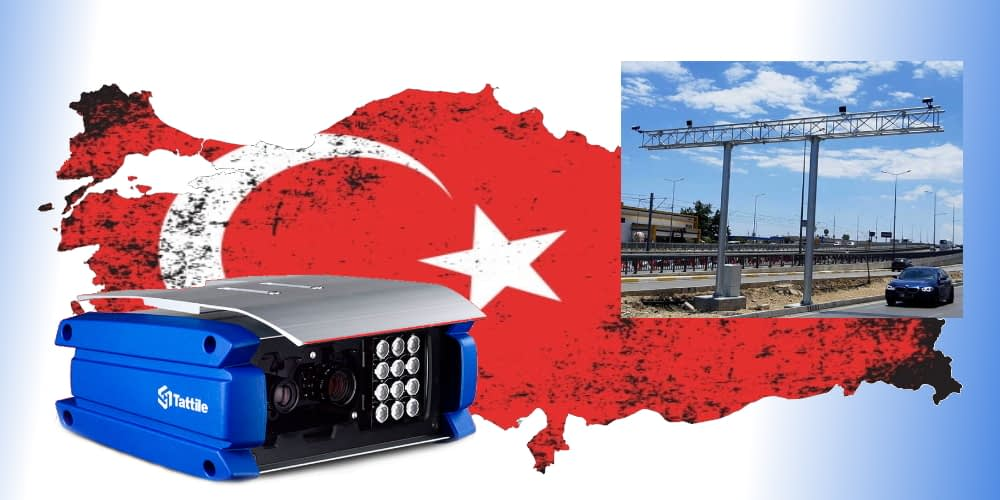 Tattile ANPR Part of Advanced Vehicle Tracking Network to Improve Security in Turkey