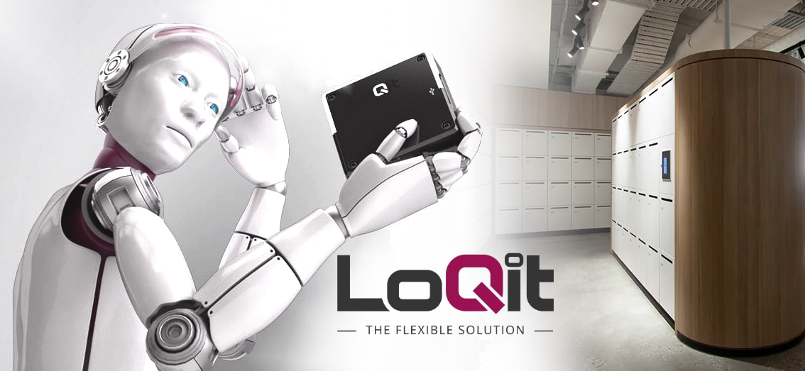 The most versatile electronic locking system for lockers and cabinets by LoQit