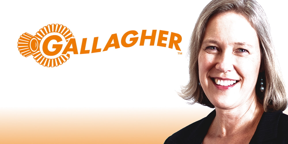 Gallagher's Chief Product Officer, Meredith Palmer