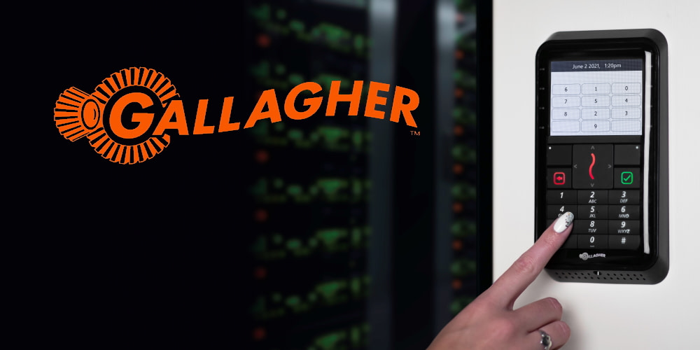 Gallagher cipher pad wins award