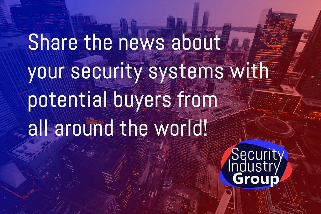 Send in your security press releases to press@secindgroup.com!