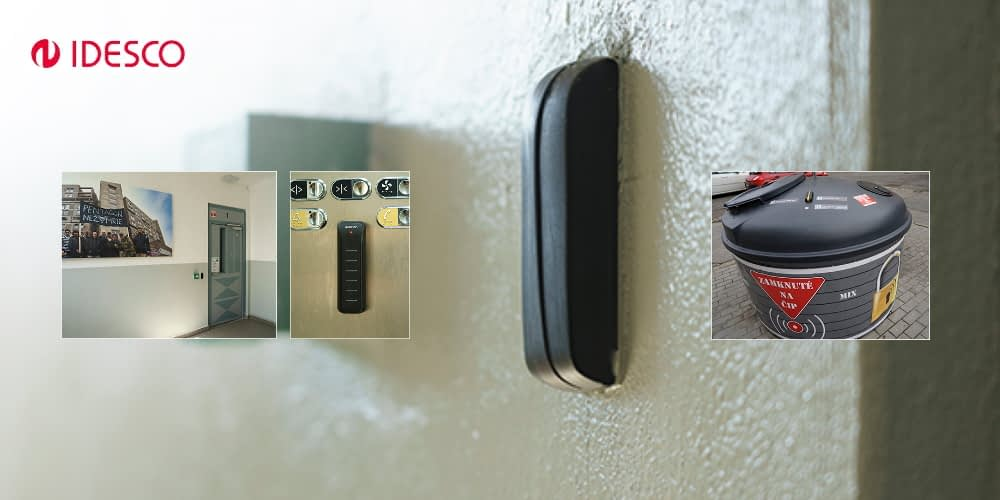 Idesco RFID solution heals a troubled building
