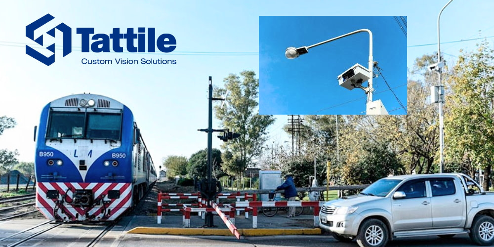 Monitoring Railroad Crossings in Argentina with Tattile ANPR