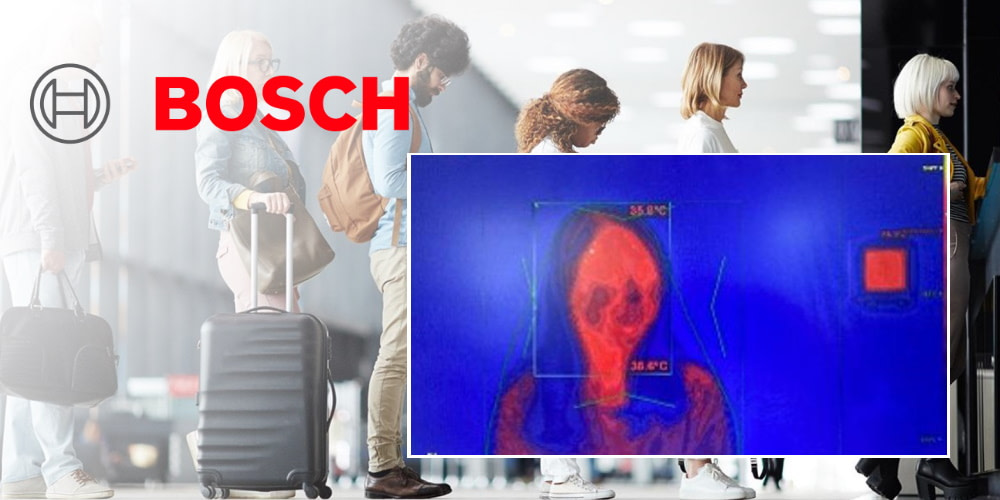 Bosch launches new Human Skin Temperature Detection solution