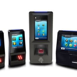 SecIndGroup.com IDEMIA SIGMA range of 1-fingerprint touch terminals