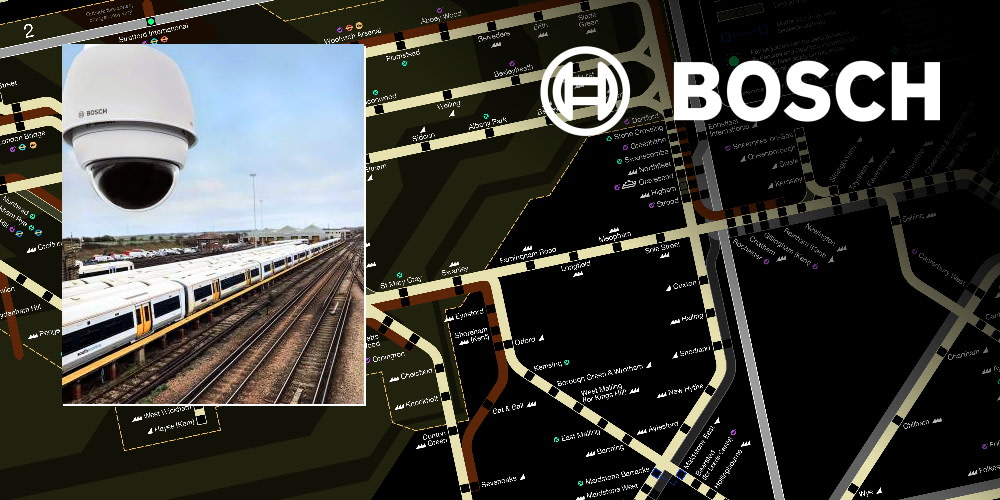 Bosch secures train depots on Southeastern Rail Network in the UK with Intelligent Video Analytics