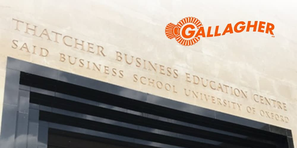 Gallagher Secures Saïd Business School at University of Oxford