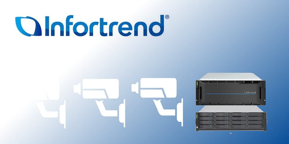 Infortrend Introduced an Optimized Scale-out NAS Surveillance Solution for Large-scale Video Archiving