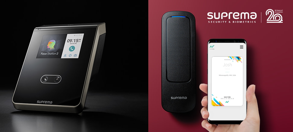 Suprema Intelligent Access Control Solutions Help Maintain Employee and Business Wellness