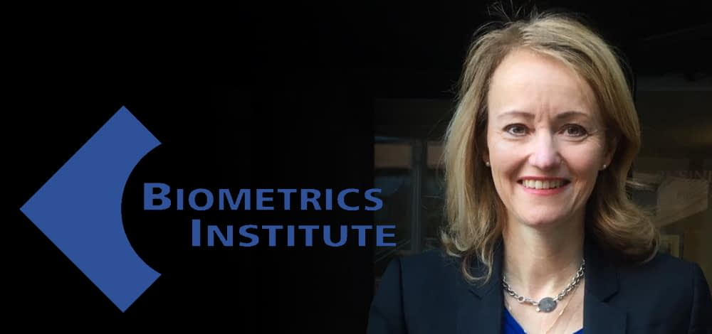 Isabelle Moeller, chief executive of the Biometrics Institute