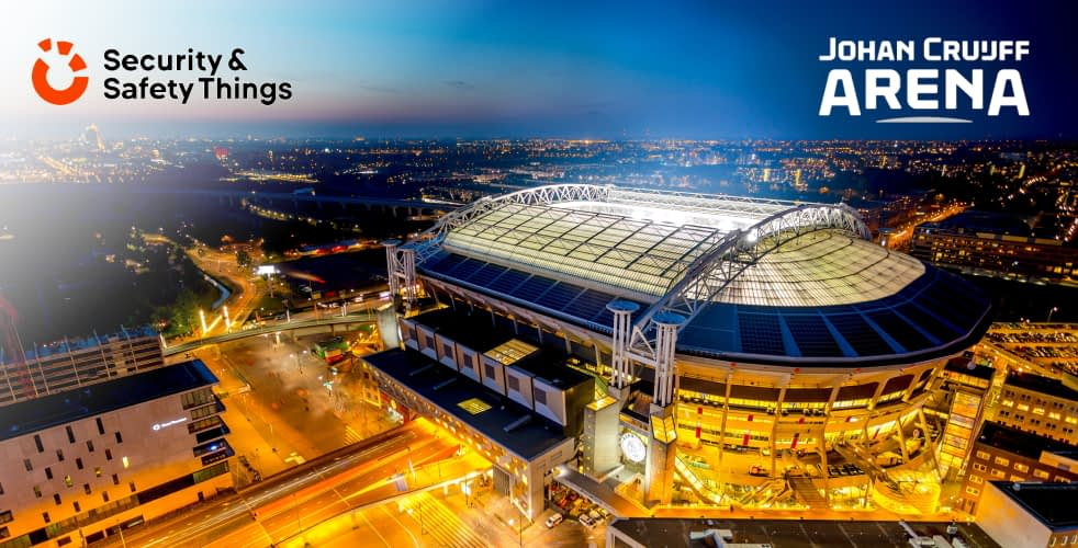 Amsterdam's Johan Cruijff ArenA partners with Security & Safety Things to enhance fan experience, health and safety