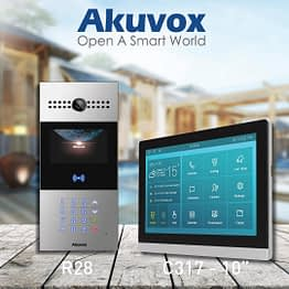 Akuvox R28 with C317