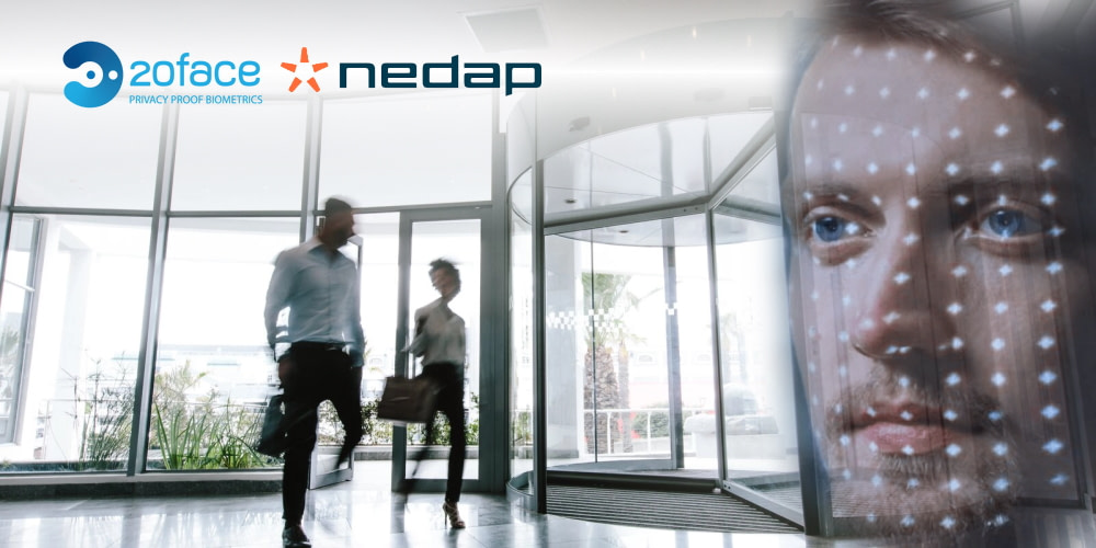 Nedap and 20face collaborate to make facial recognition more convenient for access control users