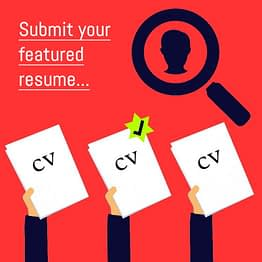 Submit your featured resume