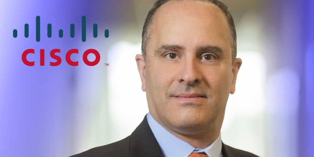Roland Acra, Senior VP and CTO at Cisco