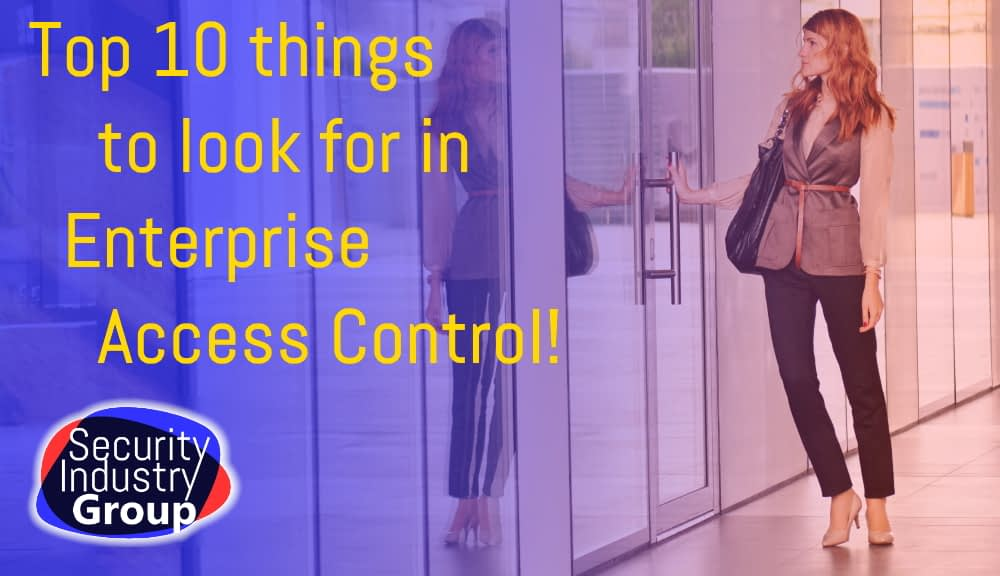 Top 10 Access Control attention points