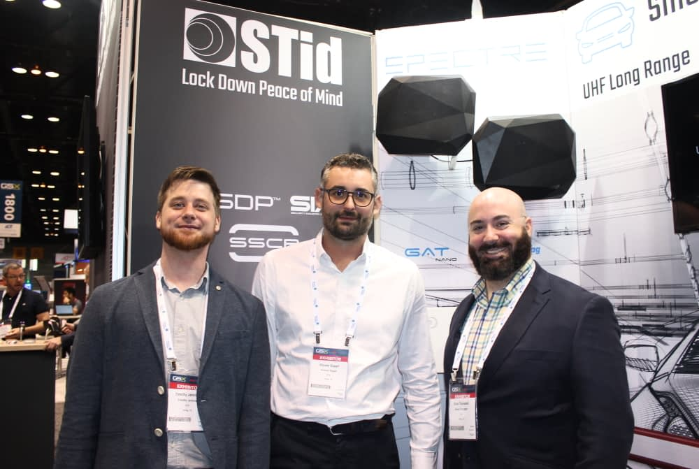 STid team with CEO Vincent Dupart